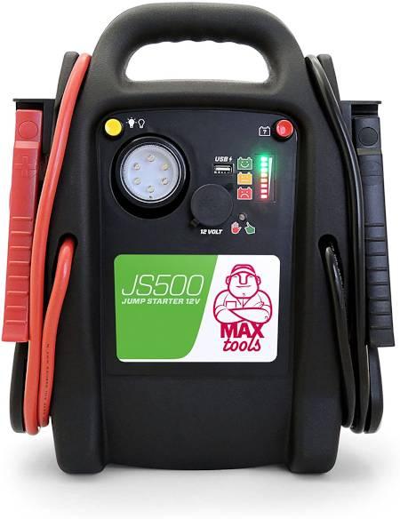 arrancador de baterías maxtools js500